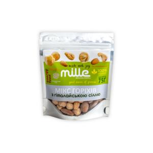 Мікс горіхів з гімалайською сіллю, 75 г